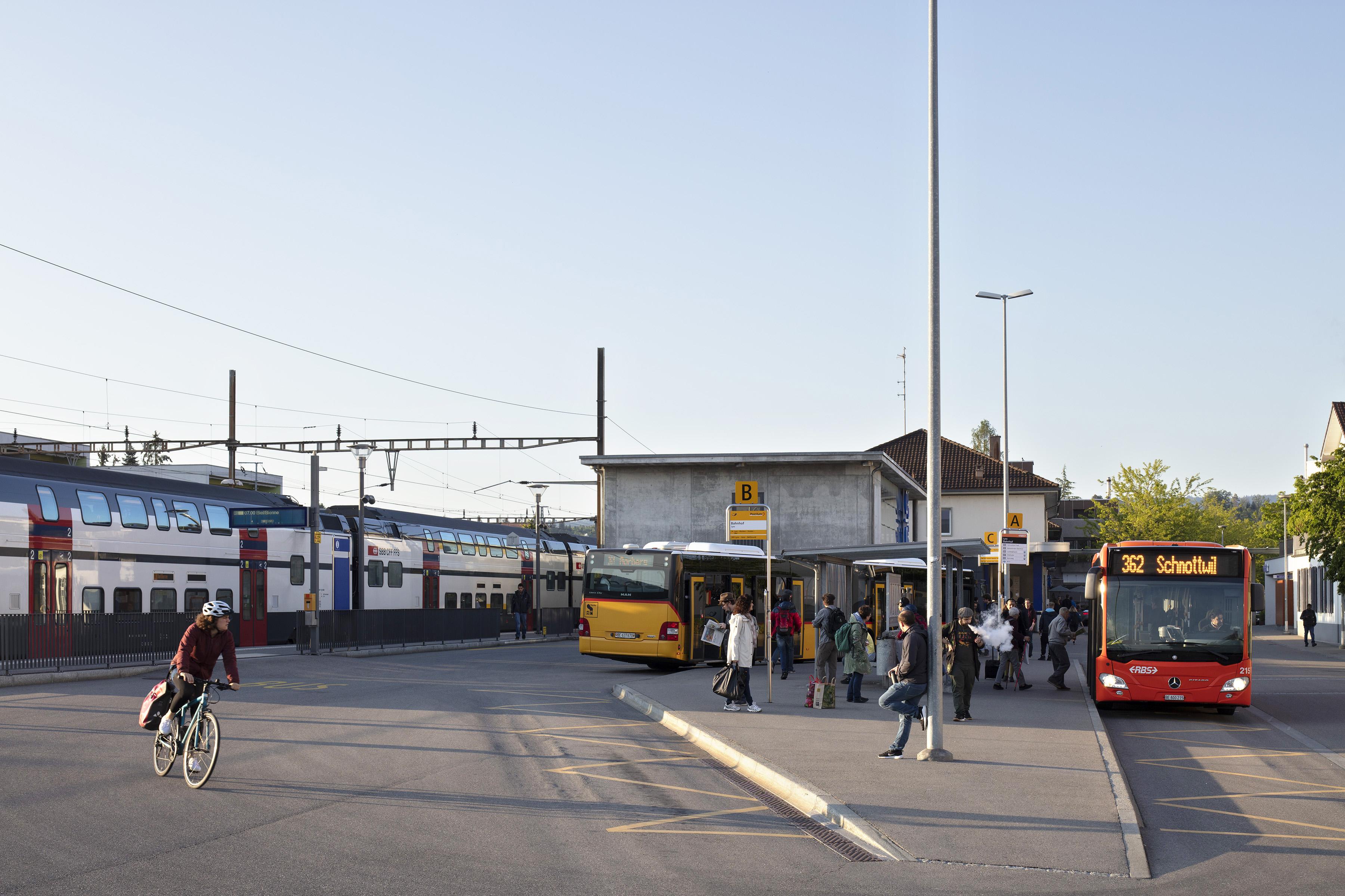 Bahnhof Lyss, 23. Mai 2019.